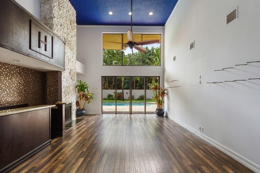 Real Estate Photography - 7534 Estrella Circle, Boca Raton, FL, 33433 - Family Room