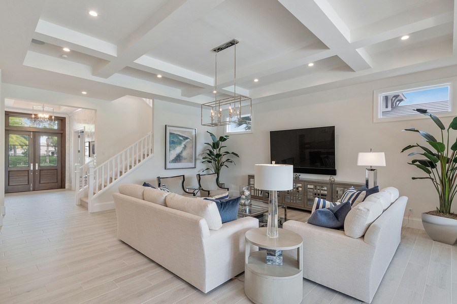 Real Estate Photography - 6888 Leeward Way, Naples, FL, 34109 - Every attention to detail from floor to ceiling