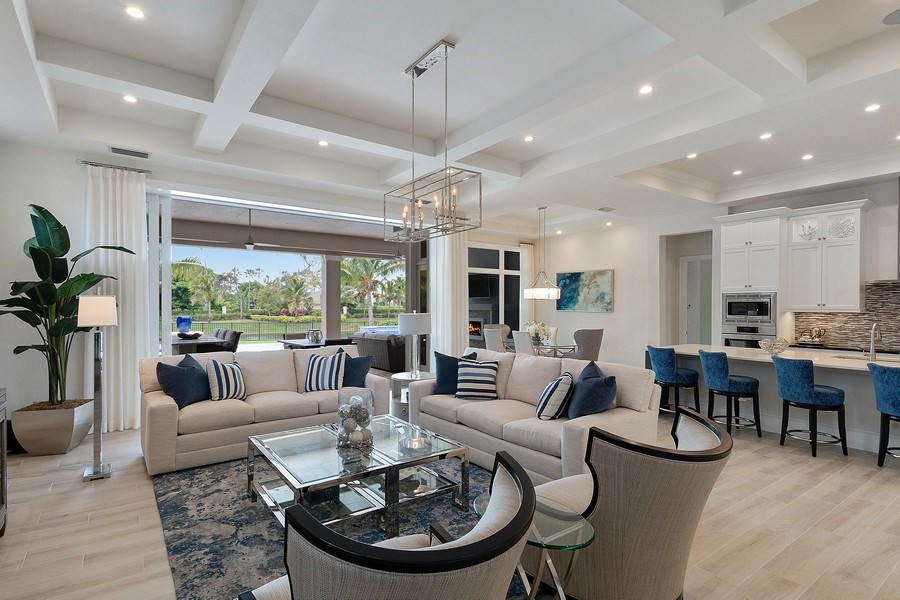 Real Estate Photography - 6888 Leeward Way, Naples, FL, 34109 - NEW elegant and comfortable Coastal modern