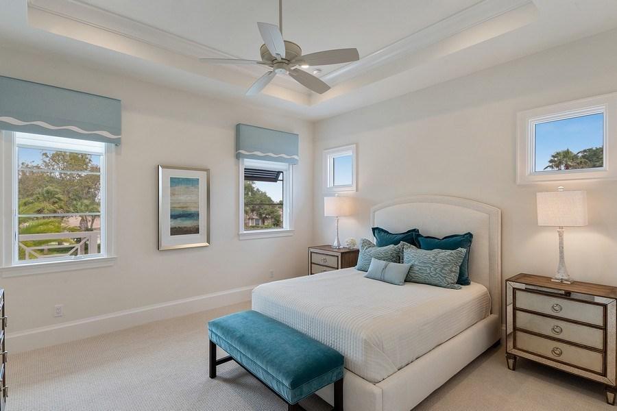 Real Estate Photography - 6888 Leeward Way, Naples, FL, 34109 - Guest Suite #2