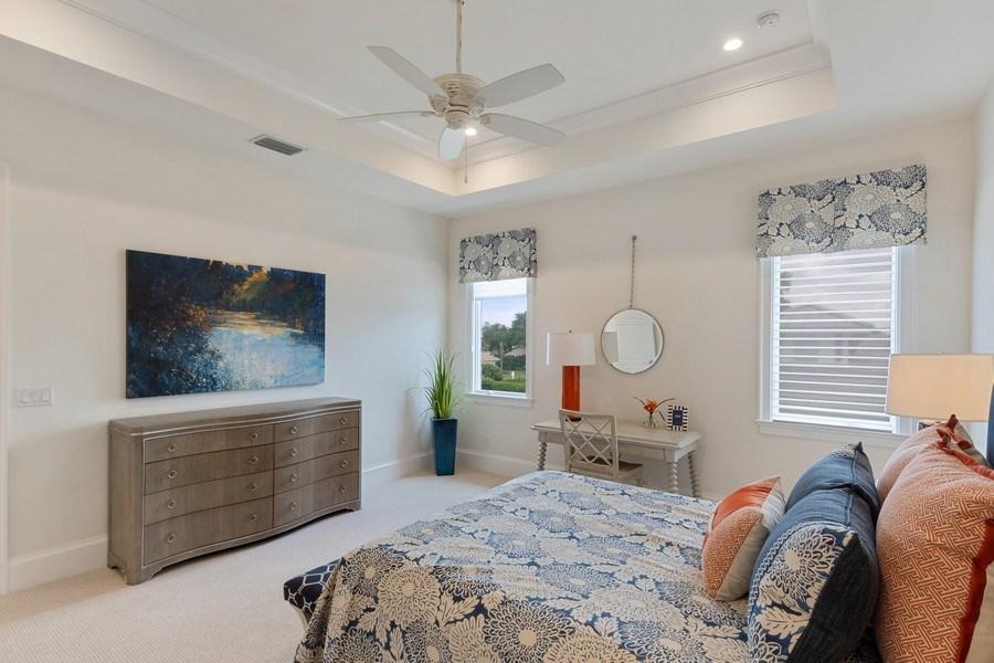 Real Estate Photography - 6888 Leeward Way, Naples, FL, 34109 - Guest Suite #3