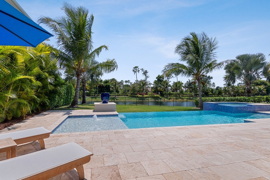Real Estate Photography - 6888 Leeward Way, Naples, FL, 34109 - What a view & in the heart of North Naples