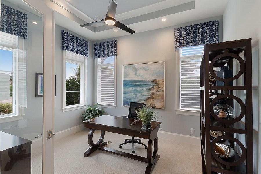 Real Estate Photography - 6888 Leeward Way, Naples, FL, 34109 - First floor Office/Den or Bedroom #5, if desired