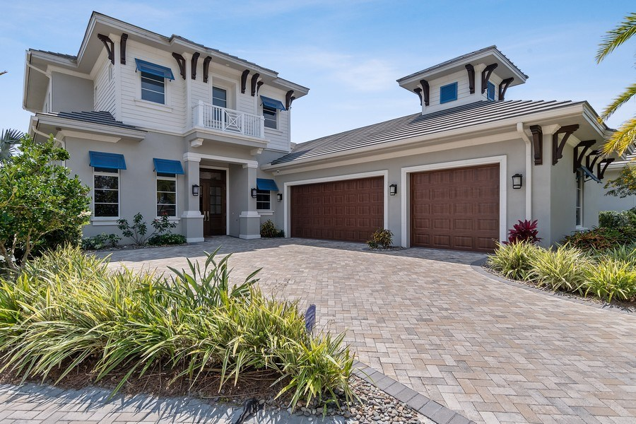Real Estate Photography - 6888 Leeward Way, Naples, FL, 34109 - Welcome to the only Waterfront estate home offered