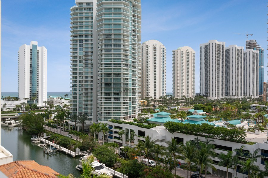 Real Estate Photography - 300 Sunny Isles Blvd., 802, Sunny Isles Beach, FL, 33160 - View