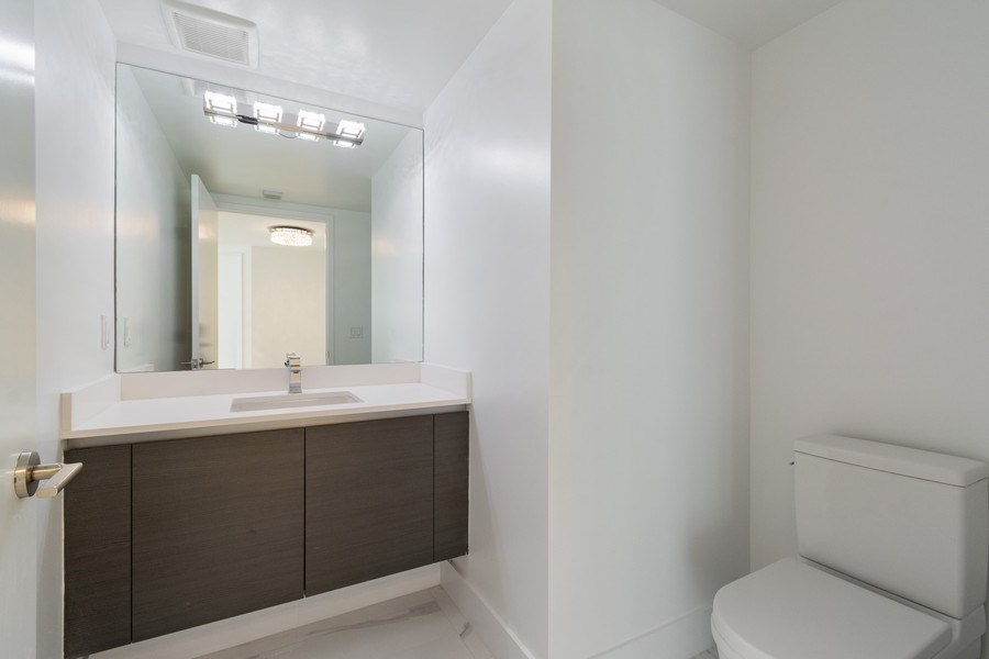Real Estate Photography - 300 Sunny Isles Blvd., 802, Sunny Isles Beach, FL, 33160 - Half Bath