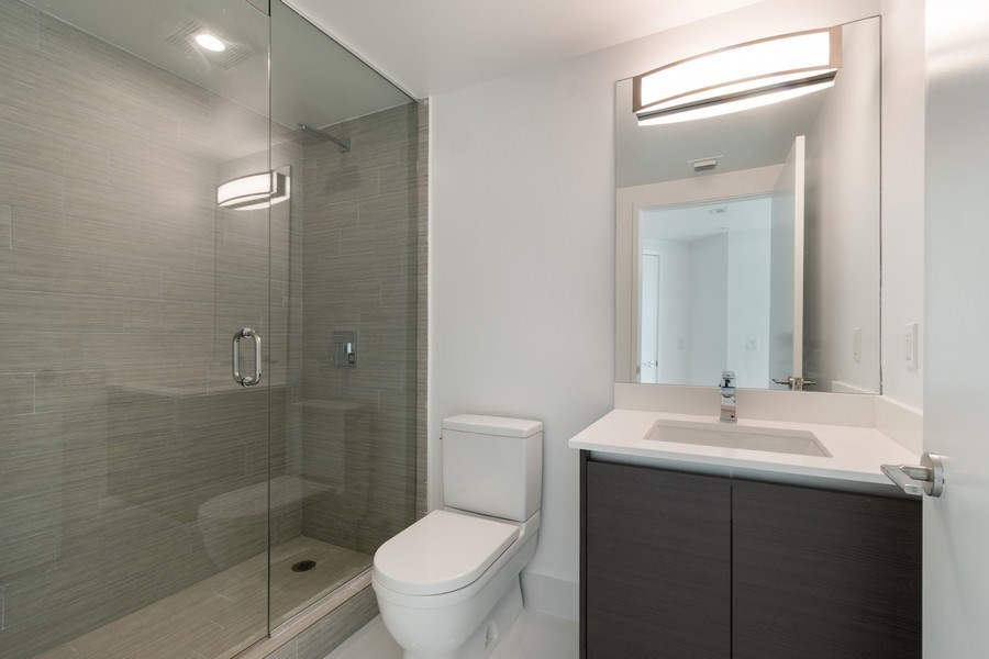 Real Estate Photography - 300 Sunny Isles Blvd., 802, Sunny Isles Beach, FL, 33160 - 2nd Bathroom