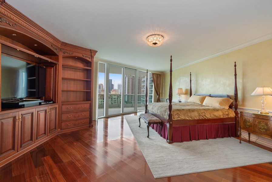 Real Estate Photography - 20155 NE 38th Court, #1401, Aventura, FL, 33180 - Master Bedroom