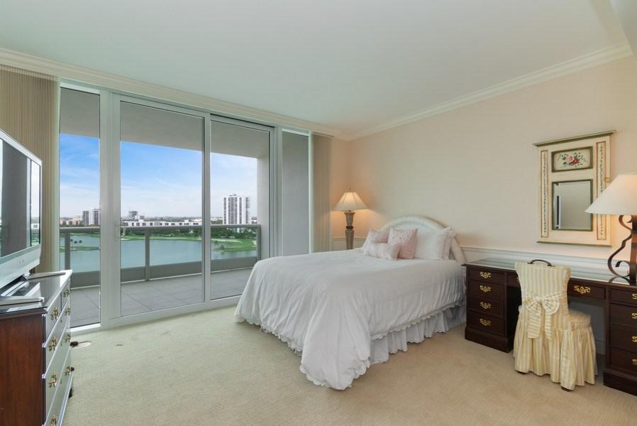 Real Estate Photography - 20155 NE 38th Court, #1401, Aventura, FL, 33180 - 2nd Bedroom