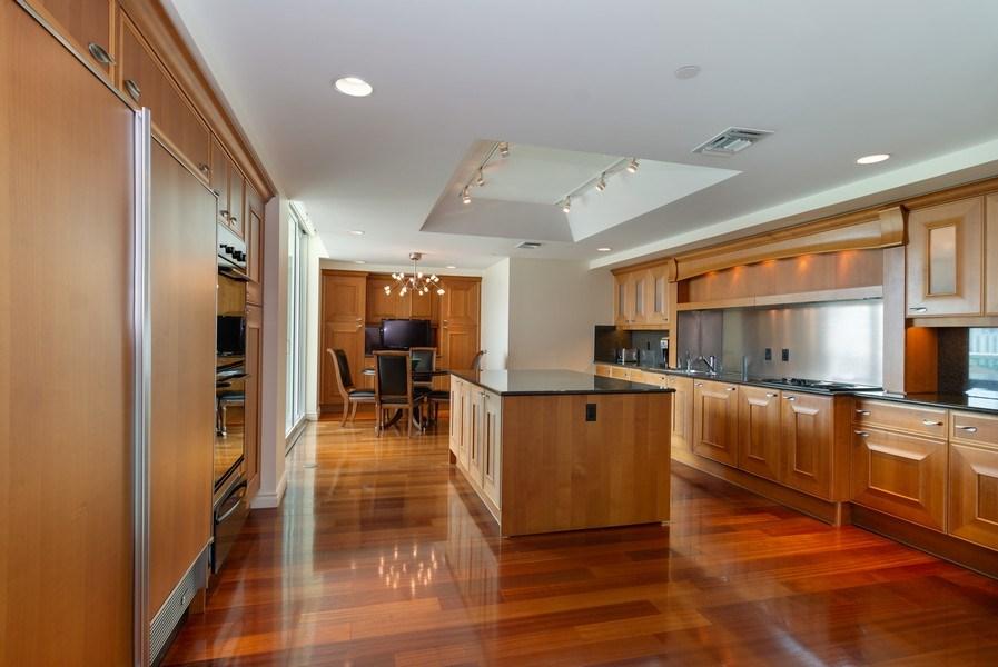 Real Estate Photography - 20155 NE 38th Court, #1401, Aventura, FL, 33180 - Kitchen