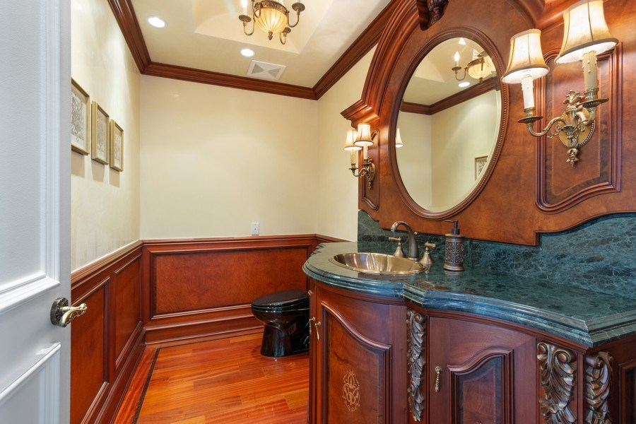Real Estate Photography - 20155 NE 38th Court, #1401, Aventura, FL, 33180 - Half Bath
