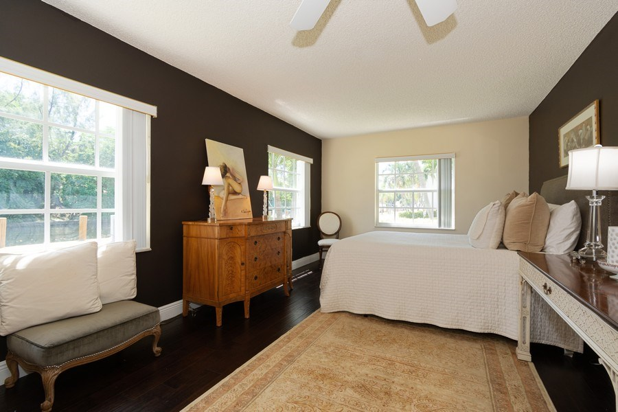 Real Estate Photography - 6315 Bay Club Drive, Unit #2, Bldg. #8, Fort Lauderdale, FL, 33308 - Master Bedroom