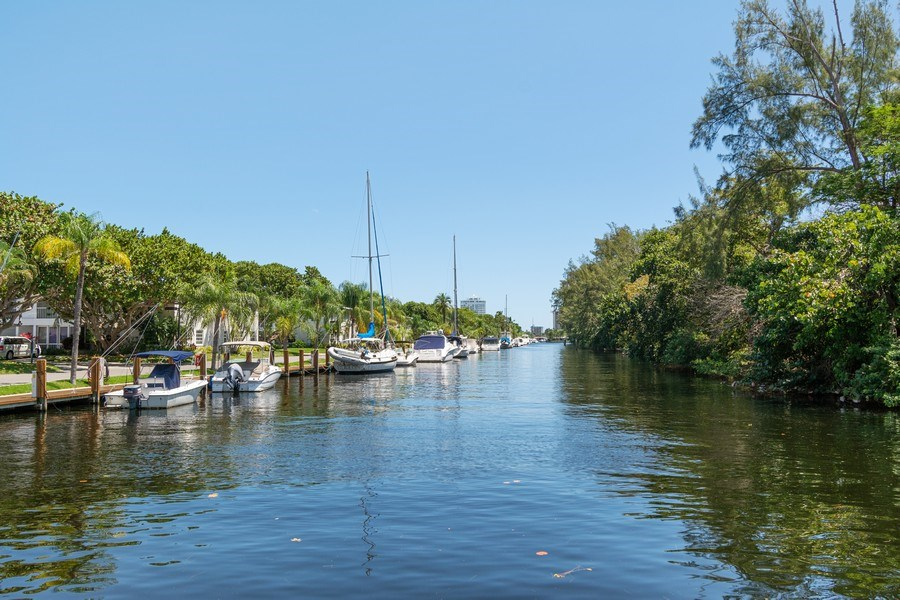 Real Estate Photography - 6315 Bay Club Drive, Unit #2, Bldg. #8, Fort Lauderdale, FL, 33308 - View