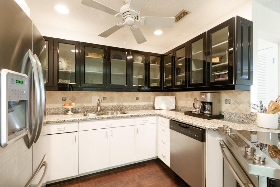 Real Estate Photography - 6315 Bay Club Drive, Unit #2, Bldg. #8, Fort Lauderdale, FL, 33308 - Kitchen