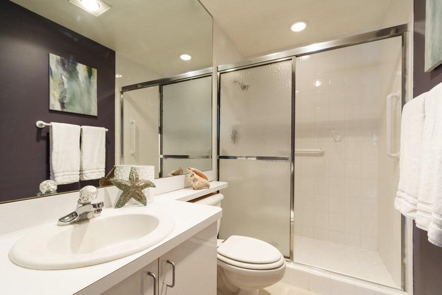 Real Estate Photography - 6315 Bay Club Drive, Unit #2, Bldg. #8, Fort Lauderdale, FL, 33308 - Bathroom