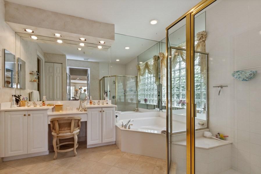 Real Estate Photography - 19674 Estuary Dr., Boca Raton, FL, 33498 - Master Bathroom