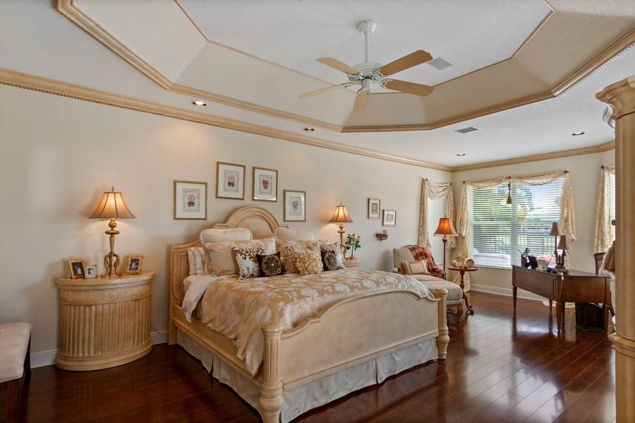 Real Estate Photography - 19674 Estuary Dr., Boca Raton, FL, 33498 - Master Bedroom