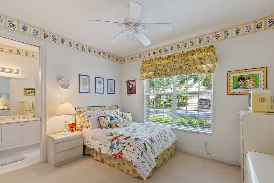 Real Estate Photography - 19674 Estuary Dr., Boca Raton, FL, 33498 - 2nd Bedroom
