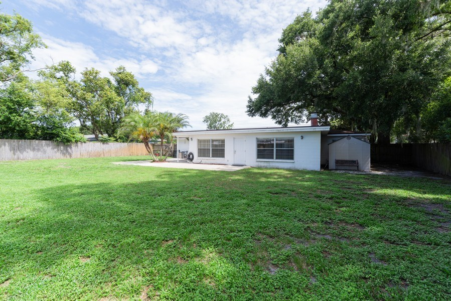 Real Estate Photography - 6022 Linneal Beach Dr., Apopka, FL, 32703 - Rear View