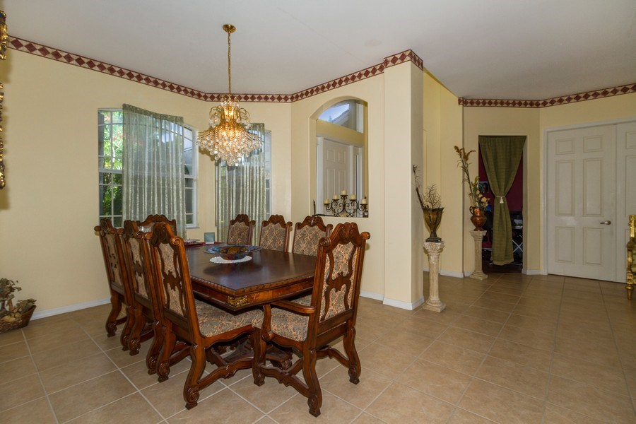 Real Estate Photography - 3775 Everglades Blvd N, Naples, FL, 34120 - Dining Room