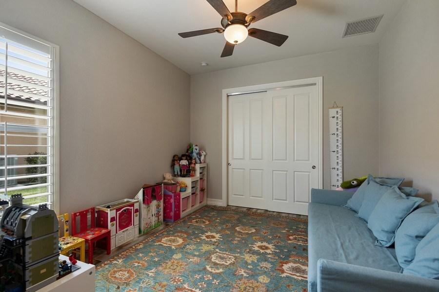 Real Estate Photography - 7329 Lantana Way, Naples, FL, 34119 - Kids Bedroom