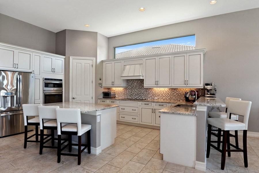 Real Estate Photography - 7329 Lantana Way, Naples, FL, 34119 - Kitchen