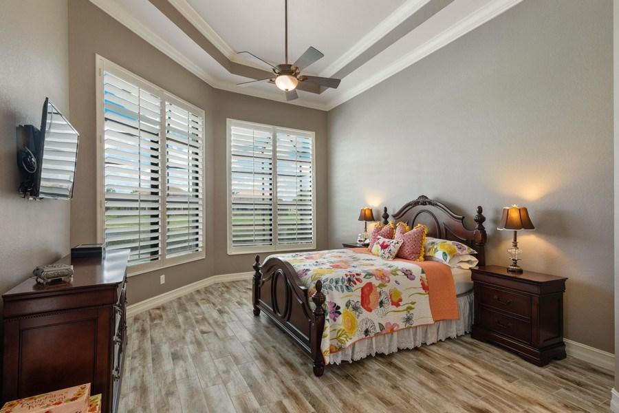 Real Estate Photography - 7329 Lantana Way, Naples, FL, 34119 - Master Bedroom