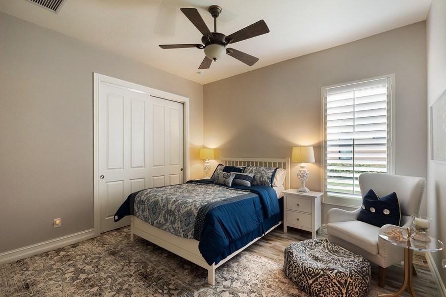 Real Estate Photography - 7329 Lantana Way, Naples, FL, 34119 - Bedroom