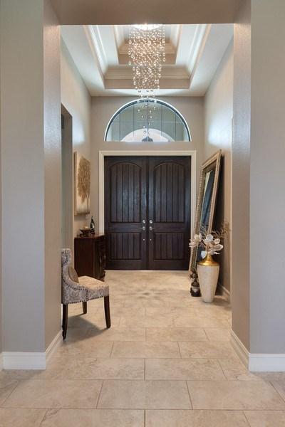 Real Estate Photography - 7329 Lantana Way, Naples, FL, 34119 - Foyer
