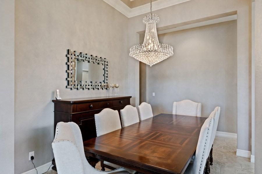 Real Estate Photography - 7329 Lantana Way, Naples, FL, 34119 - Dining Room