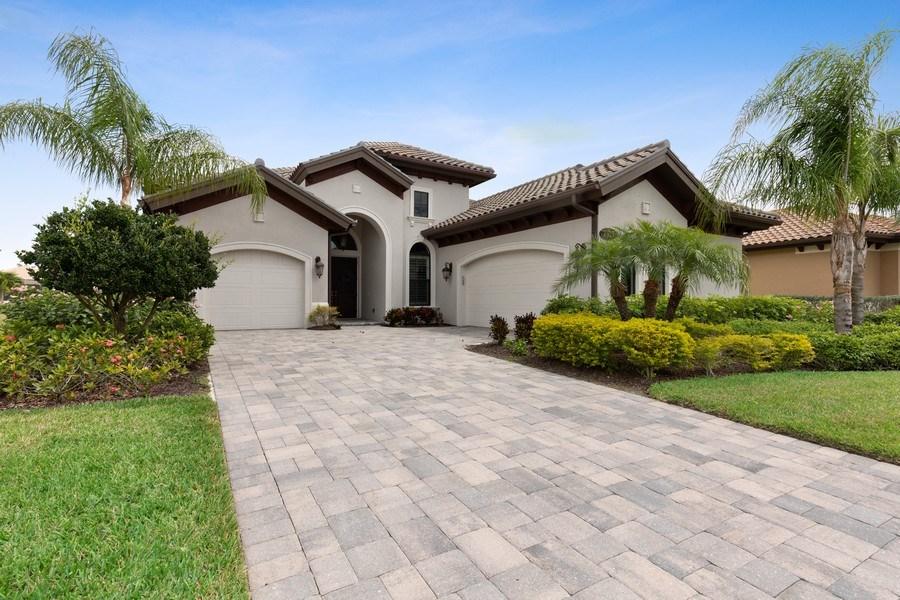 Real Estate Photography - 7329 Lantana Way, Naples, FL, 34119 - Front View