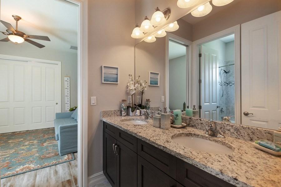 Real Estate Photography - 7329 Lantana Way, Naples, FL, 34119 - Bathroom