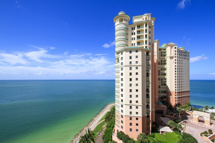 Real Estate Photography - 980 Cape Marco Dr, 407, Marco Island, FL, 34145 - View