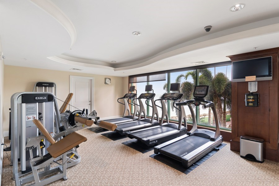Real Estate Photography - 980 Cape Marco Dr, 407, Marco Island, FL, 34145 - Gym