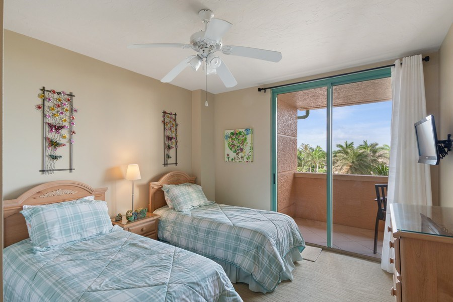 Real Estate Photography - 980 Cape Marco Dr, 407, Marco Island, FL, 34145 - Bedroom