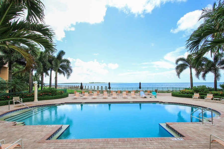 Real Estate Photography - 980 Cape Marco Dr, 407, Marco Island, FL, 34145 - Pool