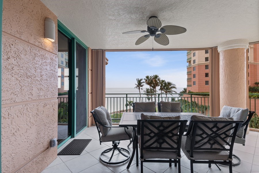 Real Estate Photography - 980 Cape Marco Dr, 407, Marco Island, FL, 34145 - Patio
