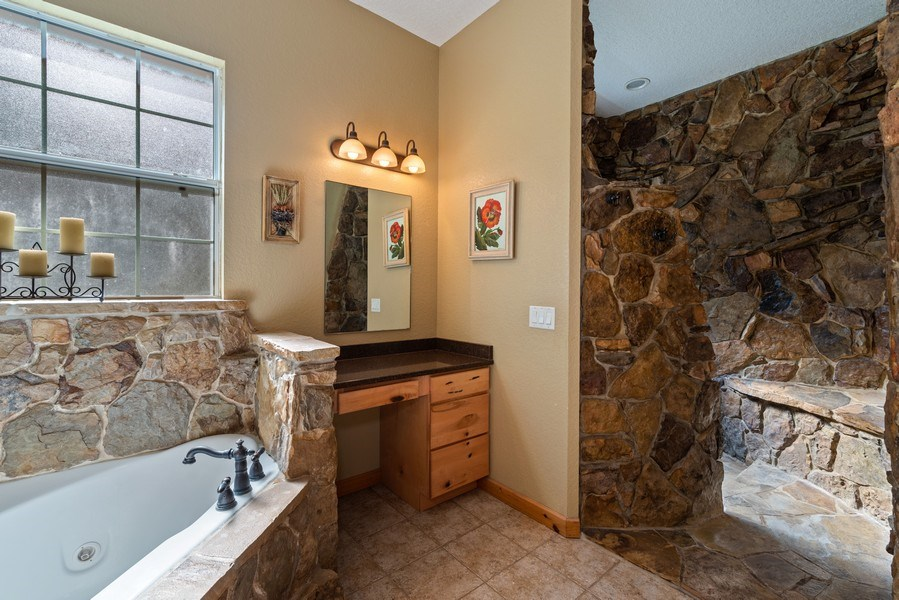 Real Estate Photography - 27737 County Road 44A, Eustis, FL, 32736 - Master Bathroom