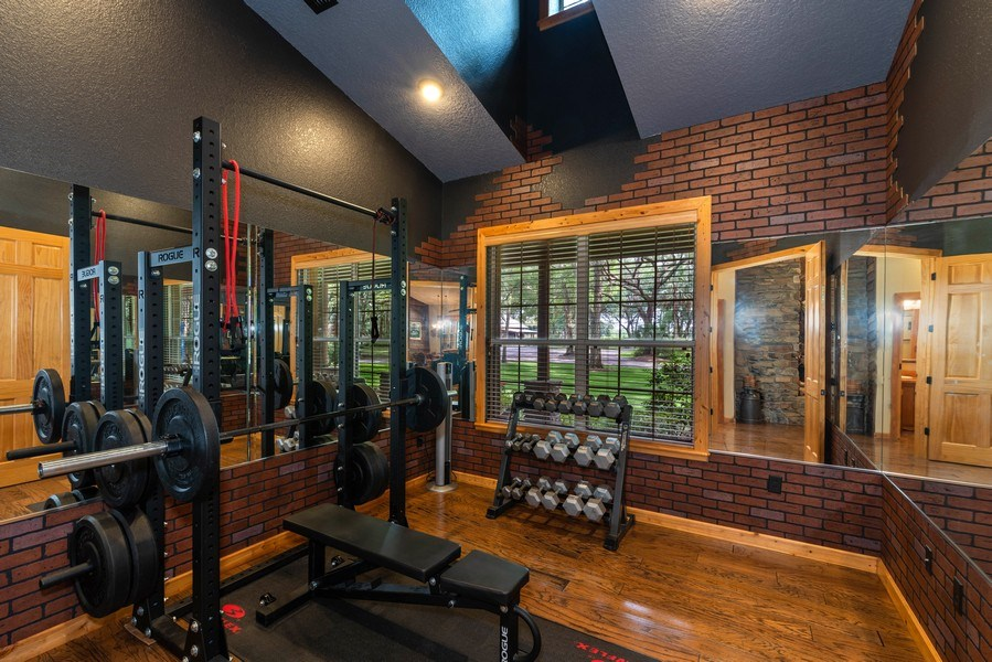 Real Estate Photography - 27737 County Road 44A, Eustis, FL, 32736 - Exercise Room
