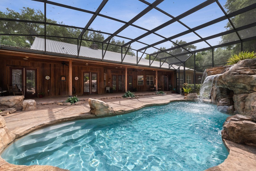 Real Estate Photography - 27737 County Road 44A, Eustis, FL, 32736 - Pool