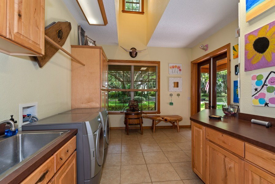 Real Estate Photography - 27737 County Road 44A, Eustis, FL, 32736 - Laundry Room