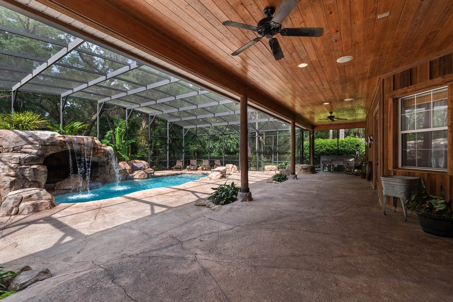 Real Estate Photography - 27737 County Road 44A, Eustis, FL, 32736 - Patio