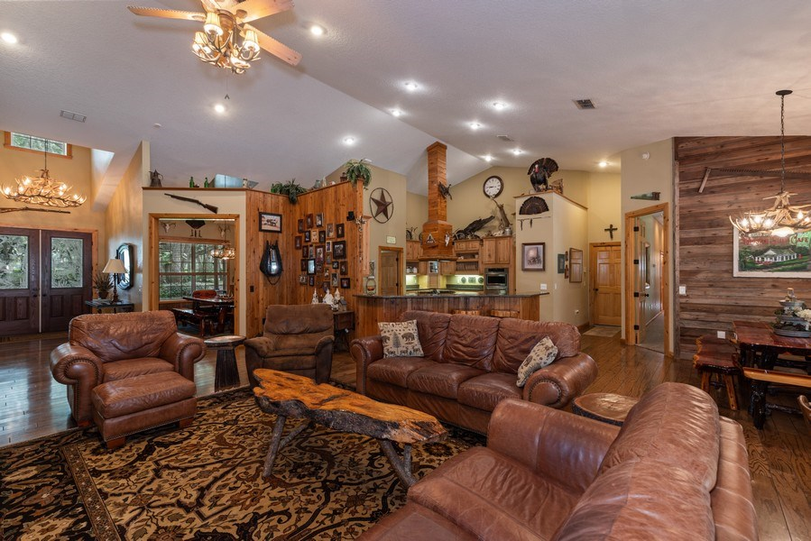 Real Estate Photography - 27737 County Road 44A, Eustis, FL, 32736 - Family Room / Kitchen