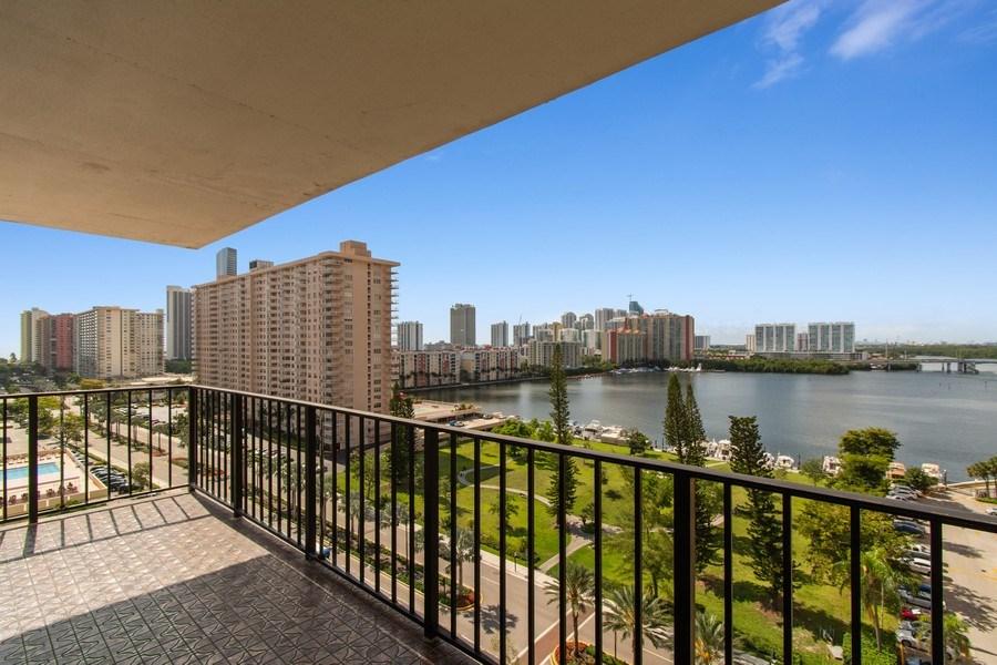 Real Estate Photography - 301 174th St., #1412, Sunny Isles Beach, FL, 33160 - Balcony