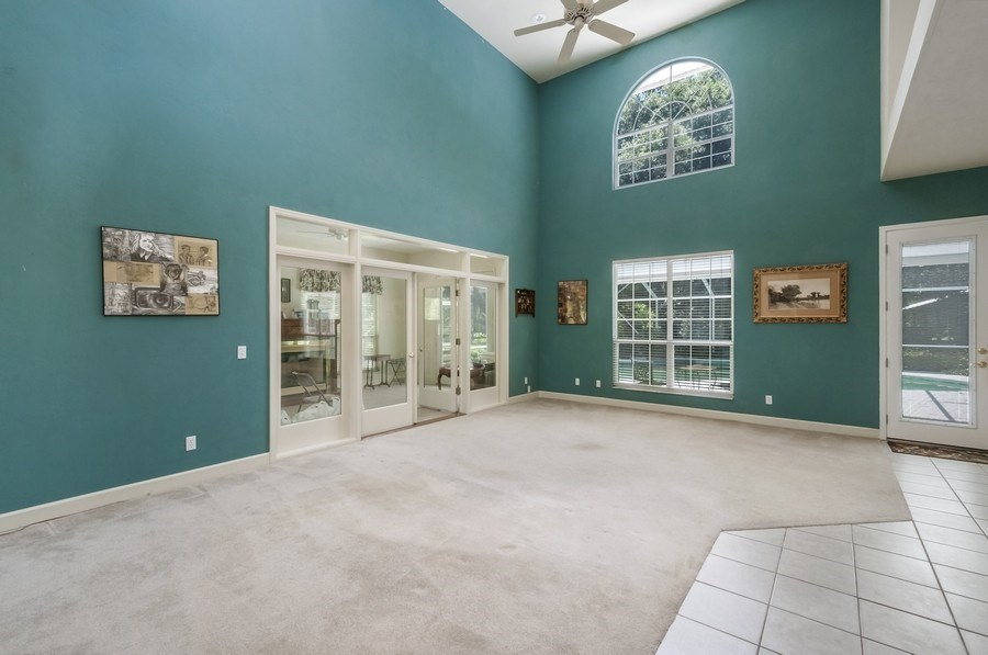 Real Estate Photography - 7325 SW 97TH LN, GAINESVILLE, FL, 32608 - Family Room