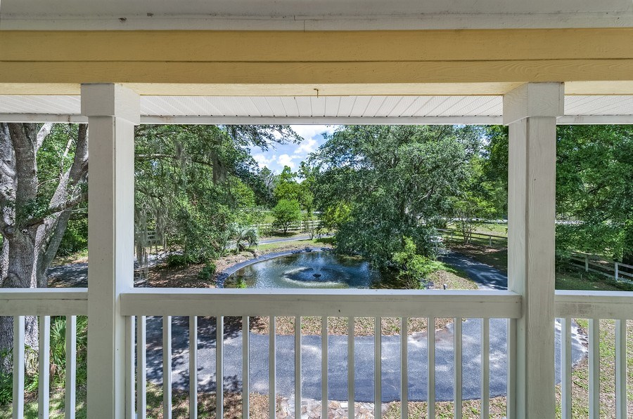Real Estate Photography - 7325 SW 97TH LN, GAINESVILLE, FL, 32608 - Balcony