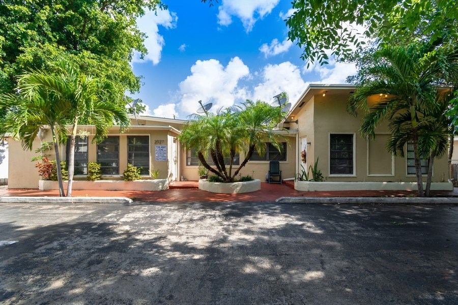 Real Estate Photography - 2027 Fletcher St, Hollywood, FL, 33020 - Front View