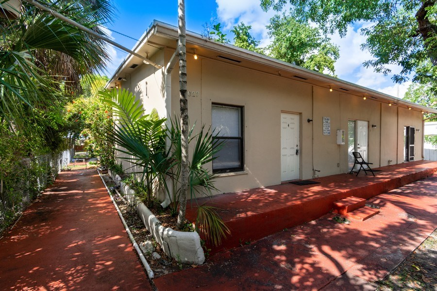 Real Estate Photography - 2027 Fletcher St, Hollywood, FL, 33020 - Rear View