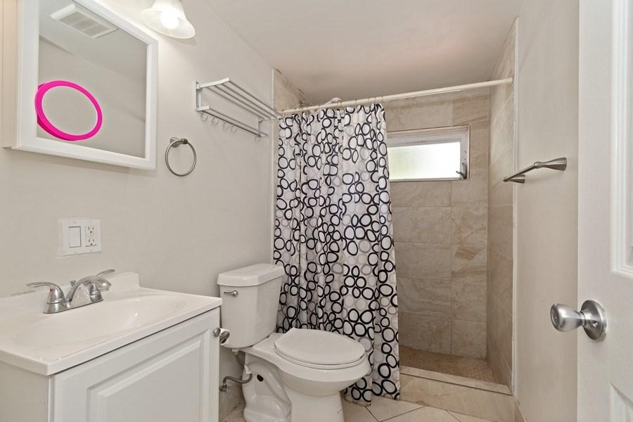 Real Estate Photography - 2027 Fletcher St, Hollywood, FL, 33020 - Bathroom