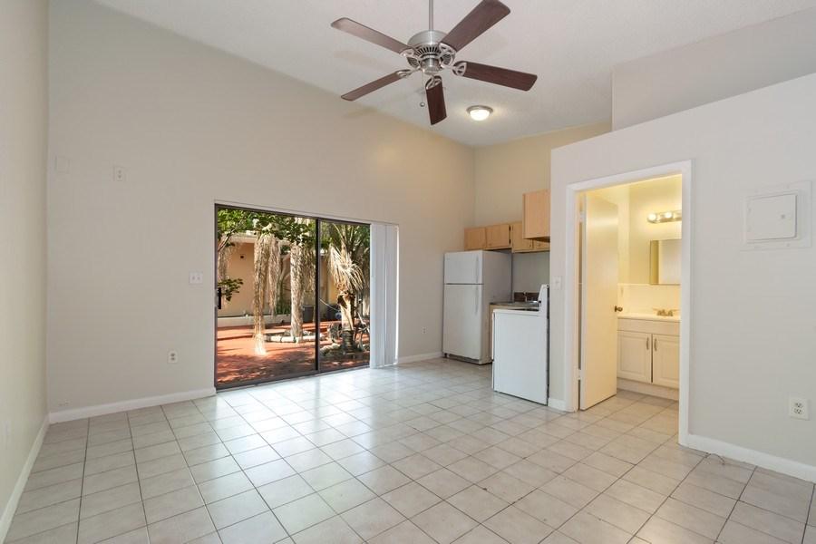 Real Estate Photography - 2027 Fletcher St, Hollywood, FL, 33020 - Kitchen / Living Room